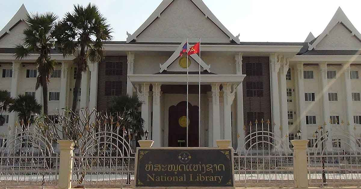 National Library of Laos