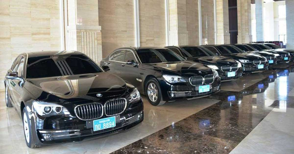 Lao Leaders Cars Auction Delayed