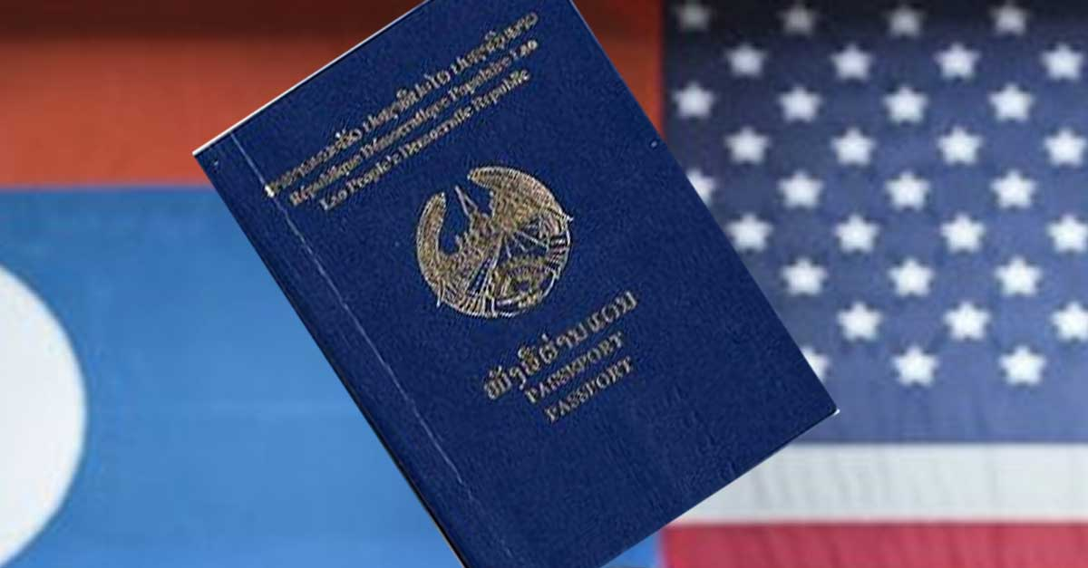US Restriction on Laos Visas