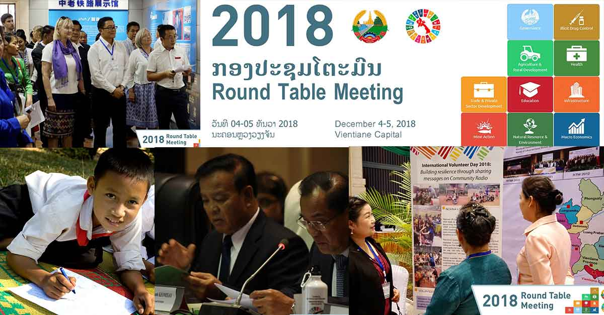 Round Table Implementation Meeting in Laos (Images UN in Lao PDR)