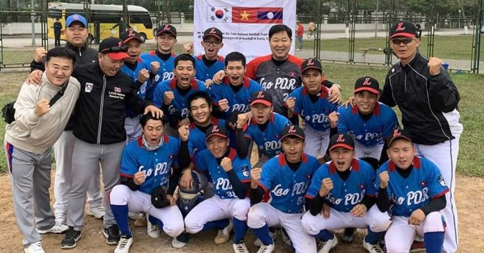 Lao Baseball Team Scores Victory in Latest Overseas Match