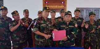 Laos, Cambodia to Withdraw Border Troops Tomorrow