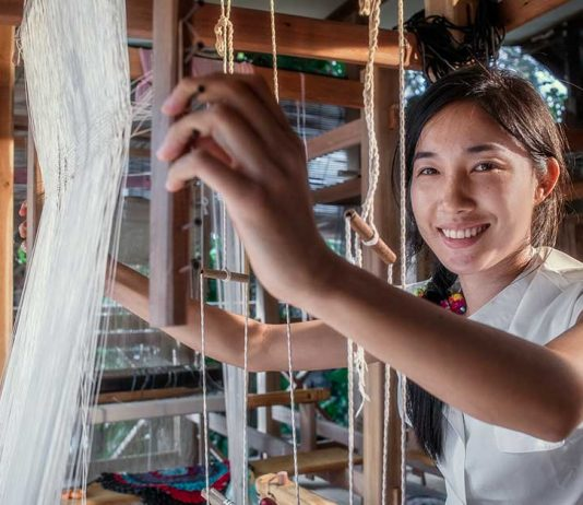 Ock Pop Tok: Showcasing Lao Handicrafts to the World