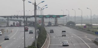 Part of the Ha Noi-Vientiane expressway on the Vietnamese side. (Photo: NDO)