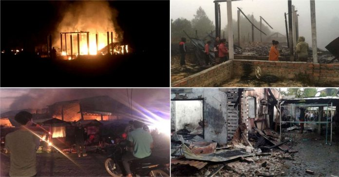Provinces With The Highest Number of Fires in 2019