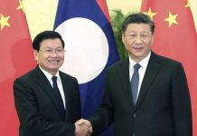 China Praises Laos as Good Friend and Neighbor
