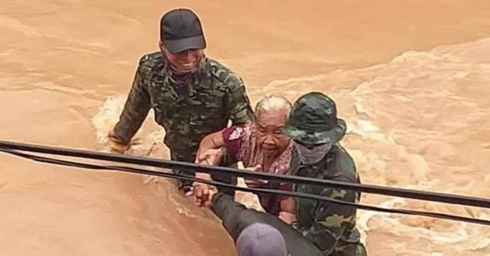 Floods Continue to Devastate Southern Laos