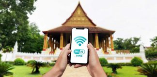 Laos to Offer Free Wi-Fi at Landmarks in Vientiane