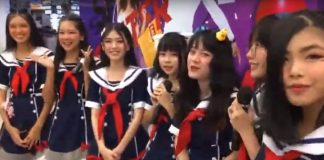 First J-pop Style Girl Band Makes Debut in Laos