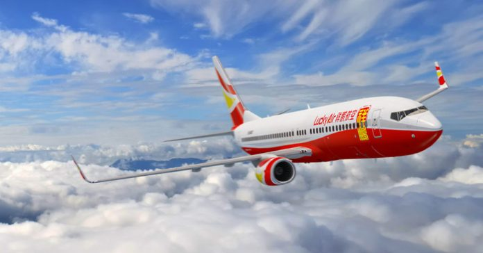 Lucky Air flies New Route from Kunming to Luang Prabang and Vientiane