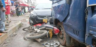 Road Accidents Continue to Plague Vientiane Capital