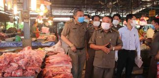Vientiane officials patrol wet markets to stop price gouging
