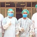 Luang Prabang Hospital's Respiratory OPD medical team on hand for Covid-19 patients