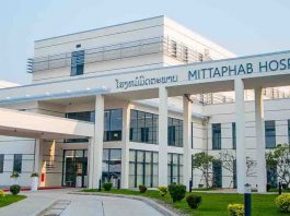 Mittaphab Hospital treats covid-19 patients