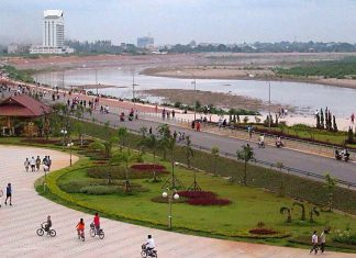 Chao Anouvong Park to Receive Upgrade