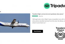 Lao Airlines Wins Tripadvisor Travelers Choice Award