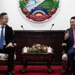 Lao and Hungarian Foreign Ministers Discuss Economic Cooperation