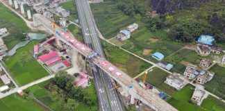 Nateuy Station is first station complete on Laos-China Railway
