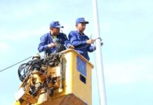 Street Lighting Being Upgrade Across Vientiane Capital