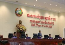 National Assembly 8th Legislature opens 10th ordinary session (Photo: Vientiane Times)