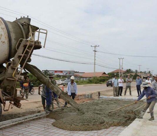 Tanmixay to Sikeut Road nearly complete