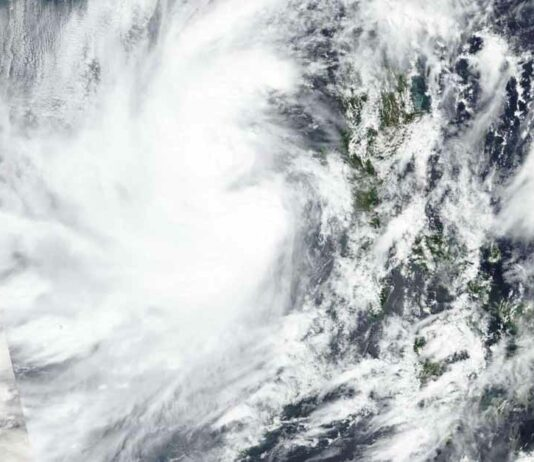Tropical storm Saudel to hit southern Laos