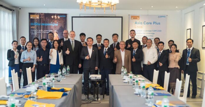 Lanexang Assurance Launches Exclusive ASIA CARE PLUS Health Insurance Product