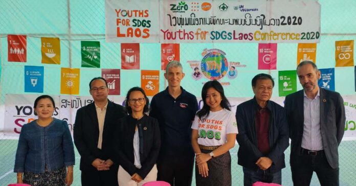 Partners at the Youth for SDG event