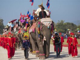 Elephant Festival Held in Xayaboury only 1 day