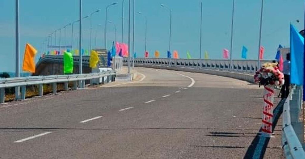 New Concrete Road opens in Don Khong