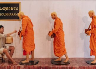 Thailand opens replica Luang Prabang in shopping mall