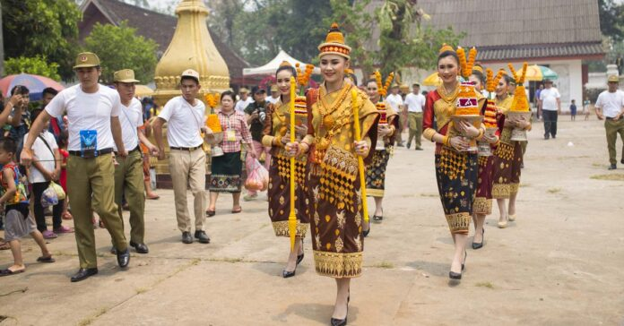 Grand Procession of Miss New Year