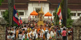Schedule of Events for Boun Pi Mai Lao (Lao New Year) in Luang Prabang