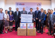 U.S. Provides USD 600,000 in Medical Equipment to Address COVID-19 in Lao PDR