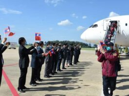 China delivers assistance to Laos as Covdi-19 hits hard (Photo: KPL)