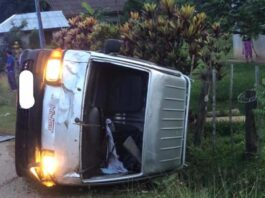 Laos sees fewer road accidents in May (Photo: Vientiane Rescue 1623)