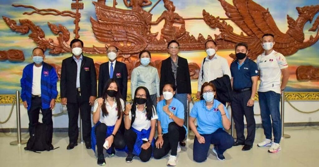 Athletes from Laos arrive in Tokyo for Olympic Games