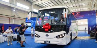 China provides Laos with 28 electric vehicles