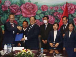 Senior officials on Thursday sign a funding agreement in partnership with Luxembourg.