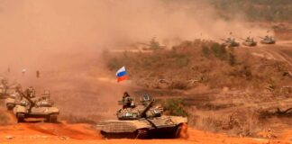 Laos and Russia Commence Laros-2021 Military Exercises