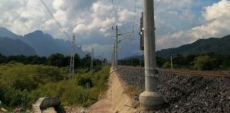Public Warned to Keep Away From Electrical Hazards along Railway