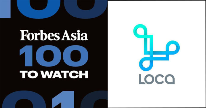 Forbes Forbes Asia 100 to Watch list includes LOCA Laos.