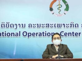 Laos extends Covid restrictions another 15 days