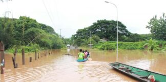 Flooding in Kenthao District