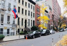 Permanent Mission of Laos to the United Nations in New York, USA.