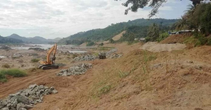 Phase Two of Flood Protection Embankment Project in Vientiane Capital
