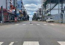 Police increase checkpoints in Vientiane Capital
