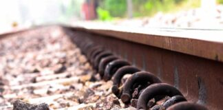 Man arrested for theft of railway components.