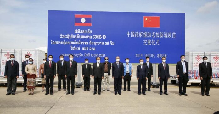 China donates another million Covid-19 vaccines to Laos