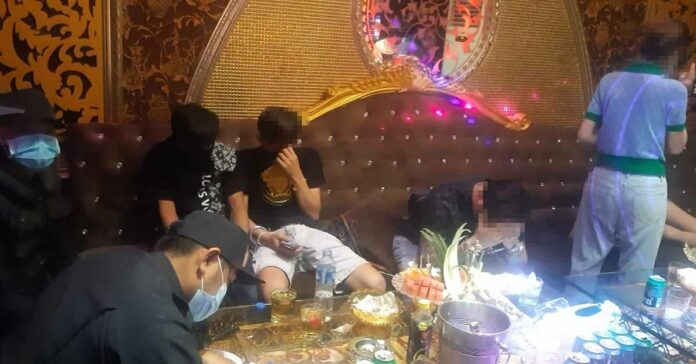Police Bust Party at Vientiane Hotel
